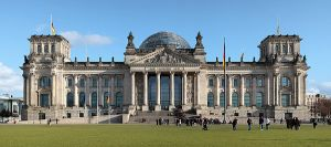 Berlin reichstag west panorama